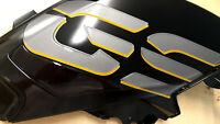 Kit ADESIVI 3D TRASPARENTI per Serbatoio MOTO compatibili BMW GS R1250 EXCLUSIVE