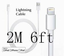 Original OEM Lightning USB Charger Cable For Appl iPhone 6s 7 8 Plus X  2M