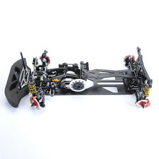 1:10 Carbon Fiber G4 4WD Drift RC Racing Model Car Frame Chassis Assembly Kit