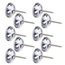 Wall Craft Decoration Sofa Crystal Upholstery Nail Tack Stud Pin 10pcs 20mm
