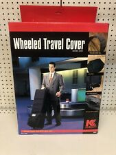New listing KNIGHT  Wheeled Travel Cover Model 2200 for your Golf clubs With Box