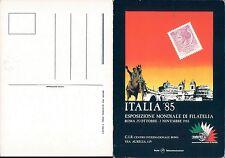 ROMA,ESPOSIZIONEMONDIALE DI FILATELIA,ITALIA85-F.G.LAZIO(RM)N.40966