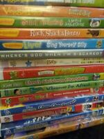 Disney Veggie Tales DVD YOU CHOOSE Kids DVD Toddler Lot Learning Teaching sesami