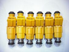 Set of Six ( 6 ) Flow Matched Refurbished Fuel Injectors # 0280155700 Ford Bosch
