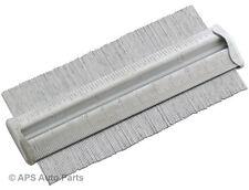"Metallo profilo contorno gauge 5 ""ACCIAIO affiancamento Laminato Piastrelle tappeto legno woork"