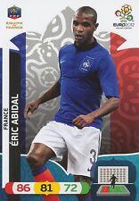 ERIC ABIDAL # FRANCE CARD PANINI ADRENALYN EURO 2012