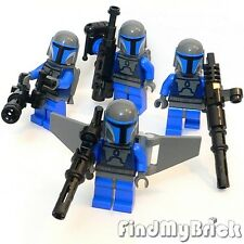 SW158 II x4 Lego Star Wars 4x Aerial & Mandalorian Trooper Minifigures 7914 NEW