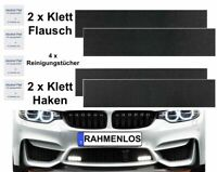 2x Top Klettband Kennzeichenhalter Nummernschildhalter Für EU Nummernschilder