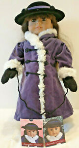 American Girl Samantha Winter Coat, Hat + Accessories - NEW PERFECT CONDITION