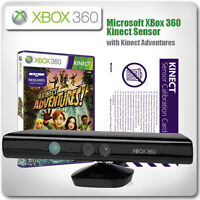 XBox 360 Kinect Sensor - with Kinect Adventures *in Excellent Condition*