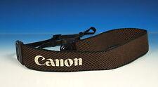 Canon EOS aprox. 110cm correa de transporte carrying Strap courroie Brown/Braun - (90459)