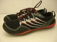 Merrell Men's 11 M Barefoot Trail Glove Running Shoes Black Molton Lava J85525