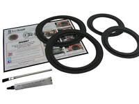 JBL J900MV Speaker Foam Surround Repair Kit For Woofers and Midrange FSK-JBLMRV