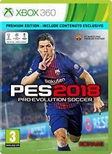 Egp214301 Konami X360 PES 2018 Pro Evolution soccer 2018 Premium Edition