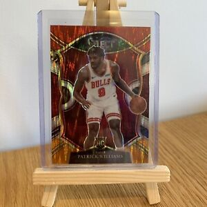 2020-21 Panini Select Patrick Williams #64 Concourse Flash Prizm NBA RC Card