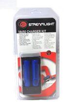 Streamlight 18650 Smart Charger Charging Kit w/ Cradle 2 Li-Ion Batteries 22101