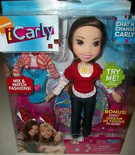 icarly Miranda Cosgrove Chat'N Change Carly doll PC game figure talking Xmas