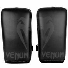 Venum Giant Kick Protections Noir Muay Thai Cuir Entraîneur Kickboxing Mma