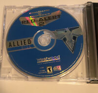 Command & Conquer Red Alert 2 Allied Soviet Renegade Game & Data Disk PC Set