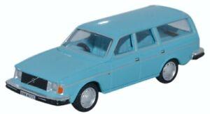 Oxford Diecast Volvo 245 Estate Lt Blue Die Cast Model 1:76 00 Scale New