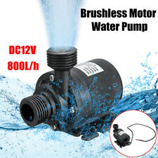 ULTRA QUIET DC 12V LIFT 800L/H BRUSHLESS MOTOR SUBMERSIBLE WATER PUMP TOOL SMART