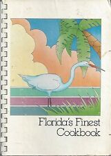 MELBOURNE FL 1988 SOUTH BREVARD COUNTY JUNIOR LEAGUE COOK BOOK FLORIDA'S FINEST
