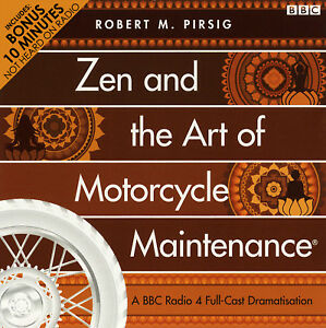Zen And The Art Of Motorcycle Maintenance: by Robert Pirsig - Audiobook 2CDs