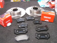 ROVER MG-F MG-TF 135 160 TROPHY FRONT BRAKE PAD REAR BRAKE PADS AND DISC