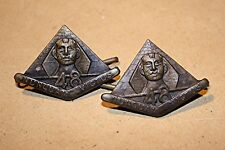 AUSTRALIAN 48th INF. BATTALION COLLAR BADGES 1930-42