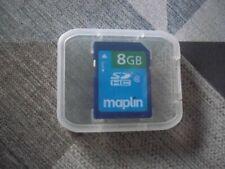 maplin 8GB SDHC card