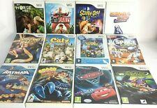 Wii - Kids Games - Disney/Crash Bandicoot/Scooby-doo  etc....  *Choose a Game*