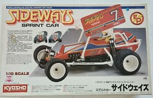 Kyosho Vintage Sideways Sprint Car Original 1/10 Electric Rc Buggy