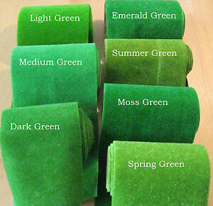 Static Grass Mat Roll OFFCUTS for Model Railway Architecture Scenery Modelling