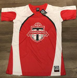 NWT New MLS Sogo Toronto FC Soccer Football Team Jersey Size S Free Shipping