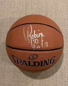 EXACT PROOF! DAVID ROBINSON Signed Autographed Basketball San Antonio Spurs