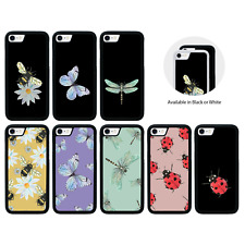 Insects topes de goma caso para Apple iPhone 5 5s SE 6 6s 7 8 Plus X Xr XS Max