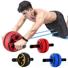 Abdominal Roller Exercise Wheel Fitness Equipment Mute Arm Back Belly Core Train
