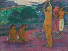 PAUL GAUGUIN FRENCH INVOCATION OLD ART PAINTING POSTER PRINT BB6243A
