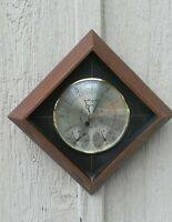 Mid Century Airguide Weather Station Diamond Thermometer Barometer Humidity
