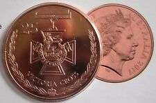 🌟RARE 2017 COIN - SPECIAL AUSTRALIAN VICTORIA CROSS COLLECTABLE -25c CENTS🌟UNC