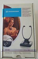 Sennheiser Set 900 In-Ear Only Wireless Headphones - Black/White