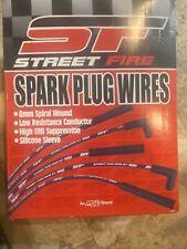 MSD 5553 Street Fire Universal V8 90 HEI/Socket Spark Plug Wire Set NEW!