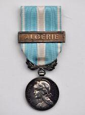 """Médaille coloniale, argent, barrette à clapet """"Algérie"""""""