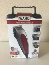 WAHL Fade Cut Haircutting Kit 20 Pieces Trimmers Clippers Buzzer Red NEW