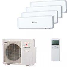 Mitsubishi Quadro-Split Inverter Air conditioner 3x SRK20ZJS,SRK35ZJS+SCM80ZJS