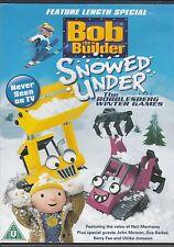 Bob the Builder: Snowed Under - The Bobblesberg Winter Games [Region 2] - DVD -
