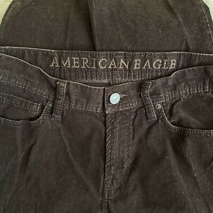 American Eagle Original Straight Corduroy Pants Size 30 X 32
