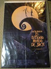 """SPANISH-The Nightmare Before Christmas - ORIGINAL RARE Movie  poster - 40"""" x 27"""""""