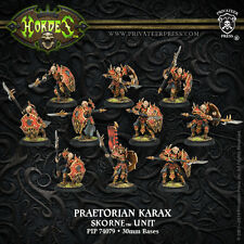 Hordes Skorne Praetorian Karax Unit PIP 74079 (10 Models) Used - Out of Box
