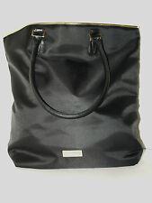 Versace Parfums Black Tote Shopper Bag With Gold Trim & Dust Bag *NEW*